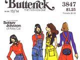Butterick 3847 B