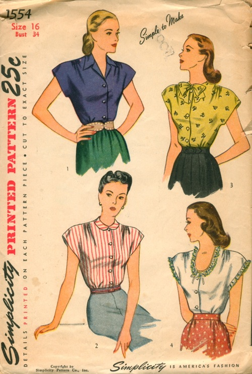 Simplicity 1554 | Vintage Sewing Patterns | FANDOM powered by Wikia