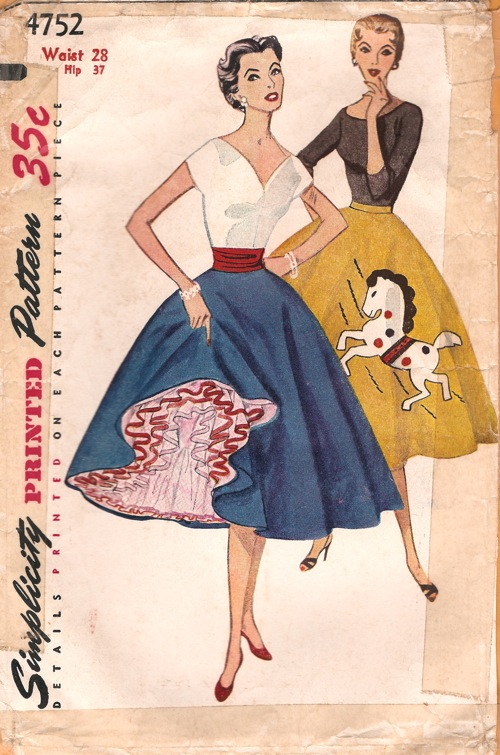 Simplicity 4752 Vintage Sewing Patterns Fandom Powered
