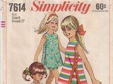 Simplicity 7614 A