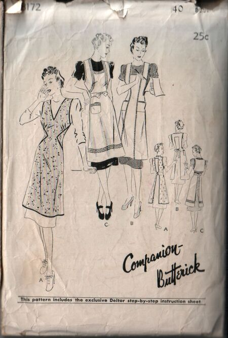 Butterick 8172 front