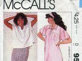 McCall's 9521 A