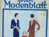 Beyers Modenblatt No. 13 Vol. 9 1930