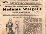 Madame Weigel's 6756