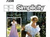 Simplicity 7258 A