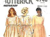 Butterick 4748 A