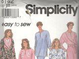 Simplicity 8142 A