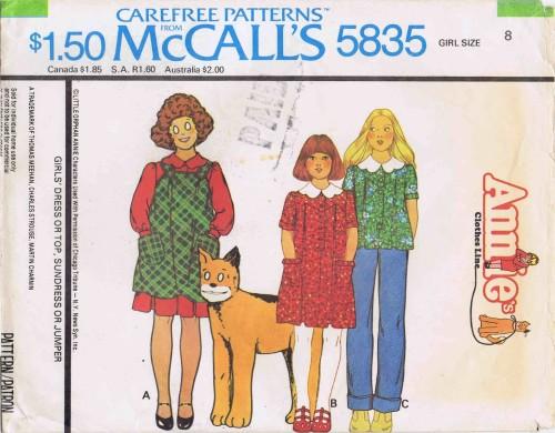 McCalls 1977 5835
