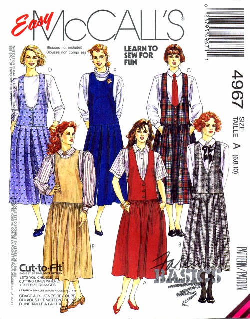 McCalls 1990 4967
