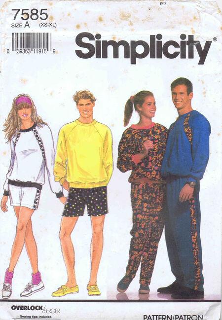 Simplicity 1991 7585
