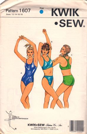 Kwik Sew 1607 Vintage Sewing Patterns Fandom Powered By Wikia