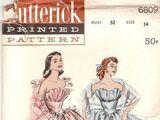 Butterick 6809 A