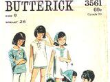Butterick 3561 A