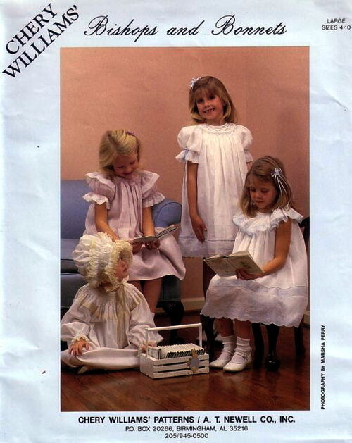 Chery Williams\' Bishops and Bonnets | Vintage Sewing Patterns ...