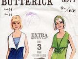 Butterick 3577 A