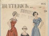 Butterick 4936 A