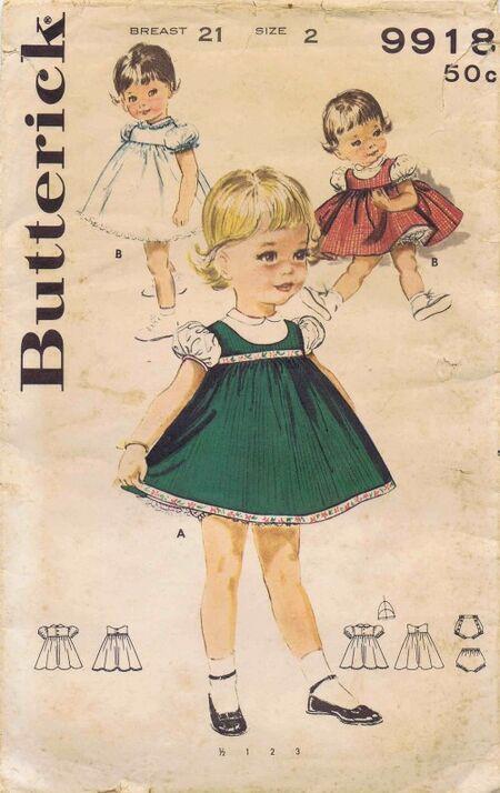 Butterick 1961 9918