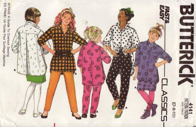 Butterick 4141 - Front