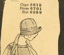 Butterick 6089 Hat
