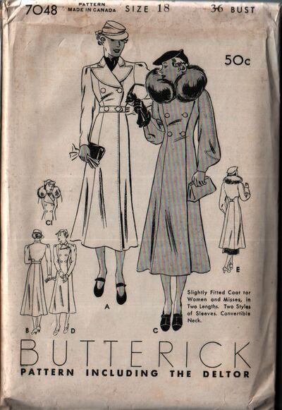 Butterick 7048 front