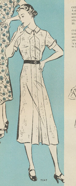 Butterick April 1937 7247