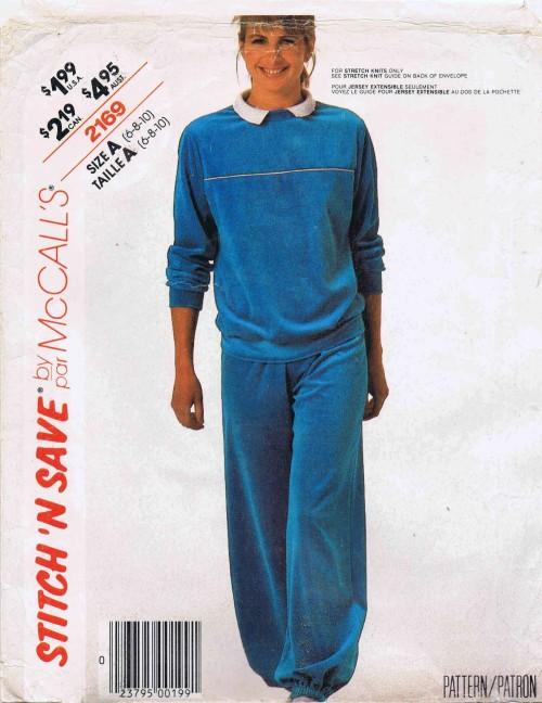 McCalls 1985 2169