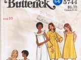 Butterick 5744 A