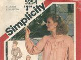 Simplicity 5254 B