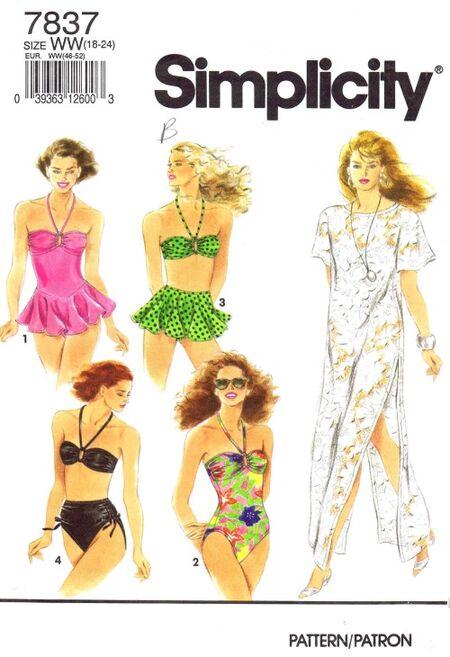 Simplicity 1992 7837