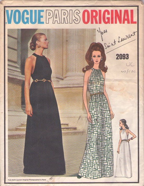 Dress Patterns for Evening Wear