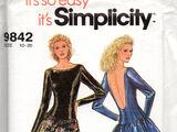 Simplicity 9842 B