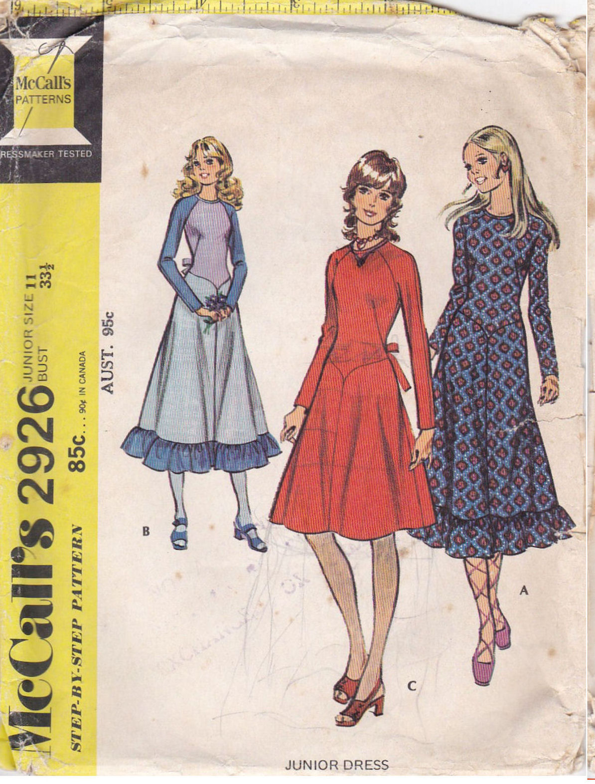 9191727f1bdc4 McCall's 2926 A | Vintage Sewing Patterns | FANDOM powered by Wikia