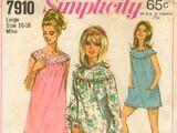 Simplicity 7910 A