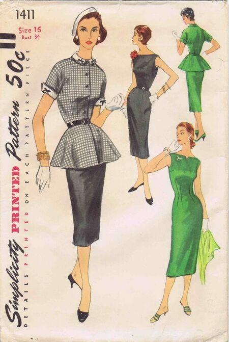 Simplicity 1955 1411