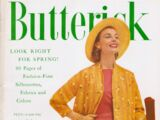 Butterick Pattern Book Spring 1956