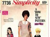 Simplicity 7736 A