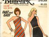 Butterick 3458 A