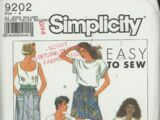 Simplicity 9202 B