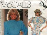 McCall's 2369 B