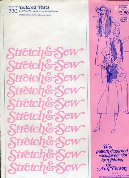 Stretch&sew320vests