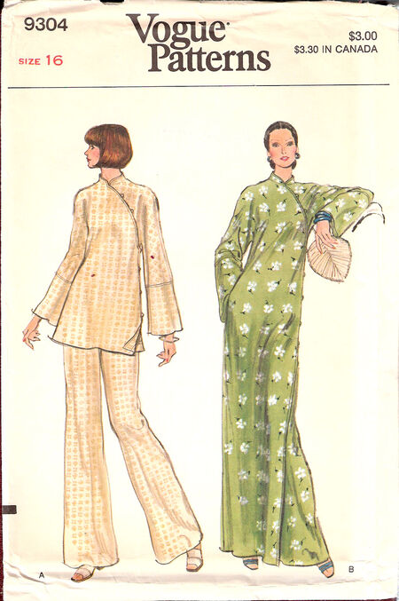 Vogue-kimono