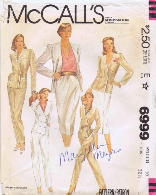 McCalls 1980 6999