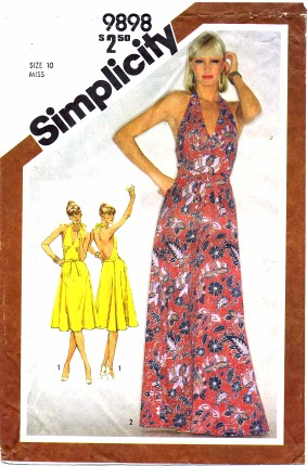 Simplicity 9898 | Vintage Sewing Patterns | FANDOM powered by Wikia