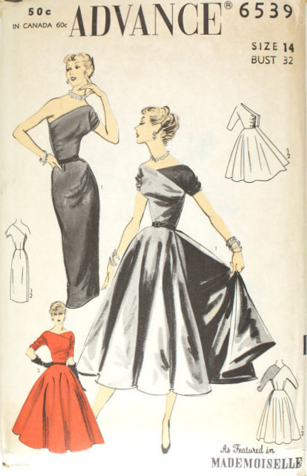 Advance 6539 | Vintage Sewing Patterns | FANDOM powered by Wikia