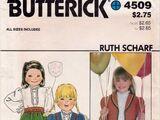 Butterick 4509 A