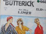 Butterick 6688 B