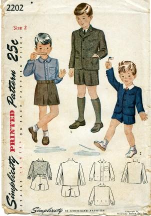 Simplicity 1947 2202 F Size 2