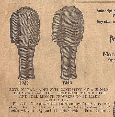 Butt 7947 cadet suit