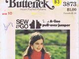 Butterick 3873 A
