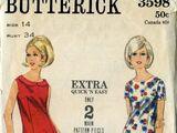 Butterick 3598 A